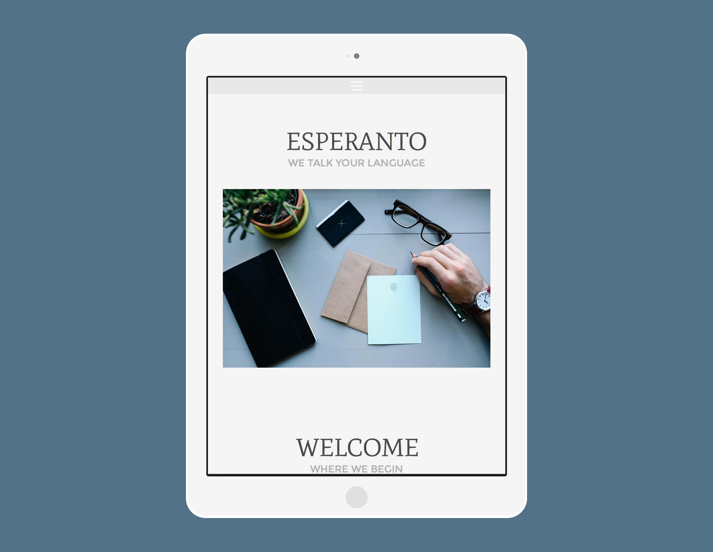 esperanto freeway template