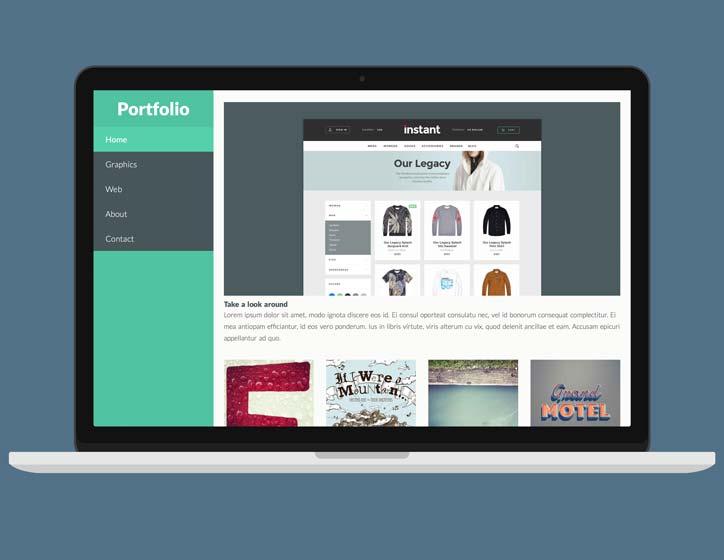 portfolio freeway pro template